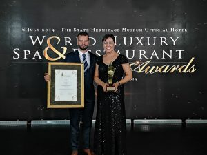 Entrega de premios World Luxury Spa Awards