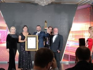 Entrega de premios World Luxury Spa Awards San Petersburgo