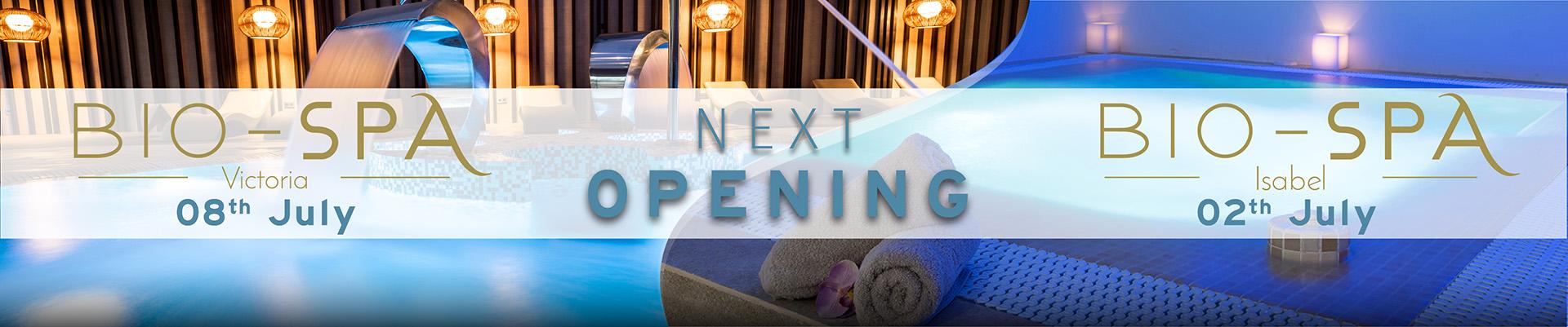 Next opening - BIO-SPA